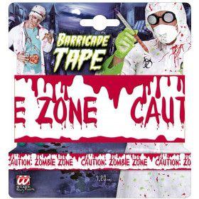 Afzetlint Zombie Zone, 7,20 Meter Zombie Invasion