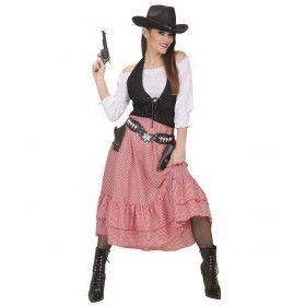 Western Dame Renegade Kostuum Vrouw