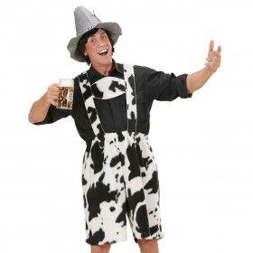 Lederhose Koe Cowhide Kostuum Man