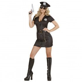 Spannend Politiemeisje Kostuum Vrouw