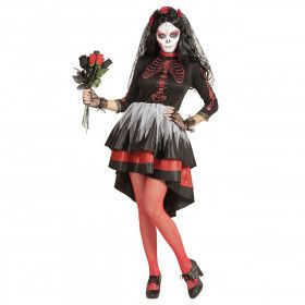 Perales Bruid Dia De Los Muertos Vrouw Kostuum