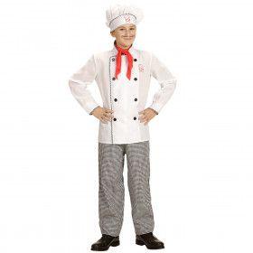 Master Chef Jongen Kostuum