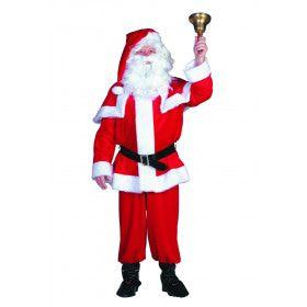 Kerstman Hohoho Fluweel Kostuum