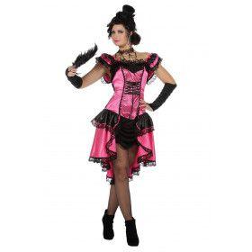 Moulin Rouge Mont Martre Can Can Danseres Vrouw Kostuum