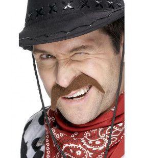 Bruine Cowboy Snor