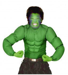 Machtig Spierenshirt Groen Kind