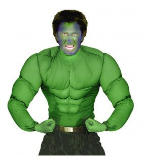 Machtig Spierenshirt Groen Volwassen Man