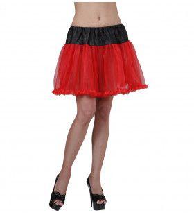 Petticoat Zwart / Rood