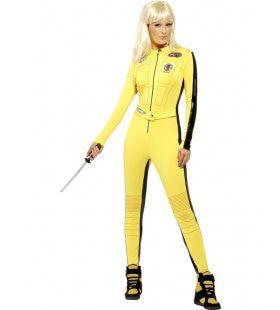 Kill Bill Vrouw Kostuum