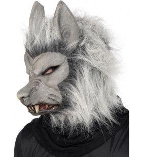Weerwolf Masker Met Haar