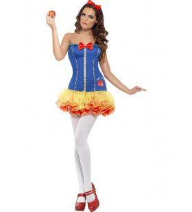 Sexy Sprookjesprinses Vrouw Kostuum