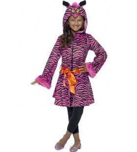 Zebra Sass Meisje Kostuum