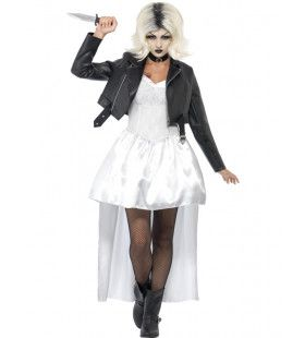 Bride Of Chucky Horror Vrouw Kostuum
