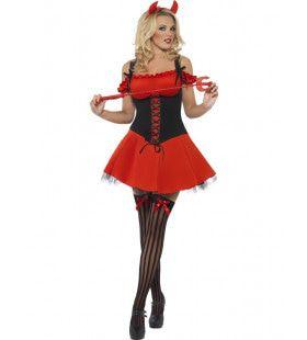 Aantrekkelijke Duivelin Vrouw Kostuum