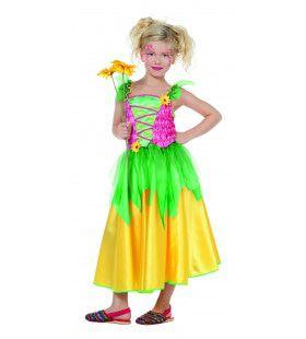 Kleurenkind Bloemenfeetje Meisje Kostuum