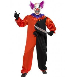 Sinistere Bo Bo The Clown Man Kostuum