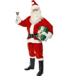 Santa Deluxe Kostuum Man
