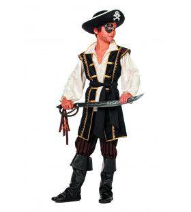 Le Buckanier Bruine Piraat (Jongen) Kostuum