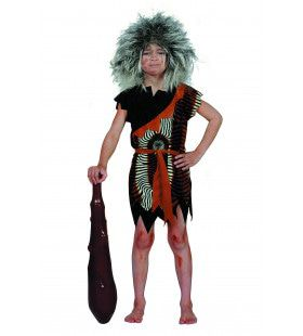 Prehistorisch Oermens Velboa Afrika (Kind) Jongen Kostuum