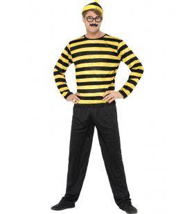 Waar Is Wally Nerd Man Kostuum