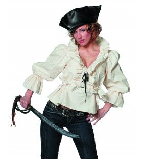 Piratenblouse Ms Driemast