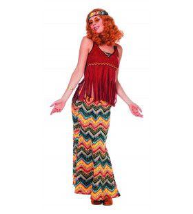 Hippie Franje East Coast Vrouw Kostuum