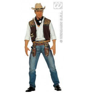 Snelle Verkleedset, Cowboy Man Kostuum