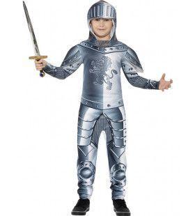 Luxe Ridder In Harnas Jongen Kostuum