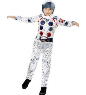 Deluxe Astronaut Jongen Kostuum
