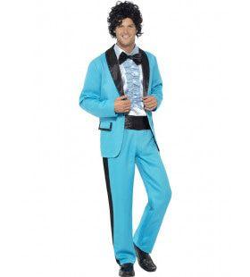Jaren 80 Amerikaanse Prom Schoolfeest Man Kostuum