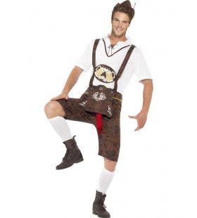 Oktoberfest Bradwurst Man Kostuum