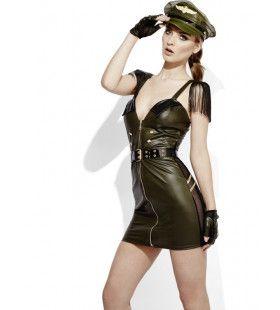 Erotische Militair Wetlook Jurk Vrouw