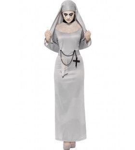 Gothische Non Vrouw Kostuum