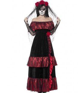 Day Of The Dead Bruid Vrouw Kostuum