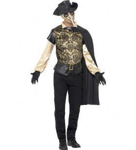 Venetiaanse Pest Dokter Man Kostuum