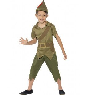 Groene Robin Hood Jongen Kostuum