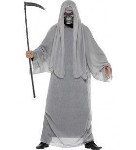 Grijze Grim Reaper Man Kostuum