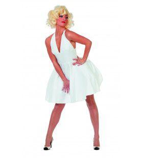 Miss Hollywood Marilyns 50th Birthday Vrouw Kostuum
