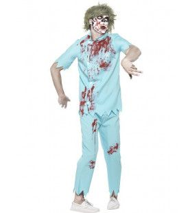 Zombie Tandarts Mr Wortelkanaal Man Kostuum