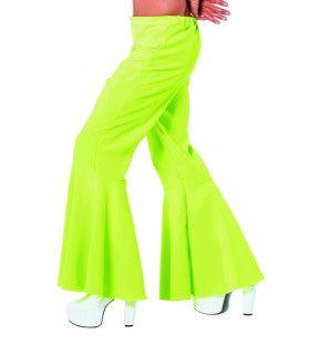 Groene Hippie Broek Bi-Stretch