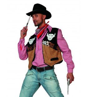 Cowboyvest Buffalo From Tennessee Man Kostuum
