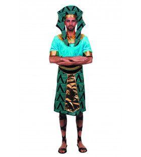 Egyptenaar Ramses ( Zonder Hoed) Farao Van De Nijl Man Kostuum
