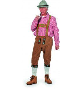 Herr Pinter Tirolerhose Suedine Lang Man Kostuum