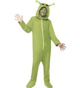 Onesie Schattig Buitenaarts Wezentje Alien Kind Kostuum