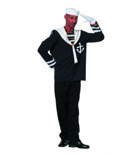 Ay Ay Captn Matroos Man Kostuum