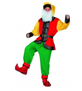 Kerstman Kabouter Kostuum