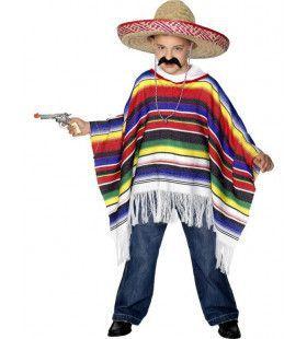 Poncho Kind Kostuum