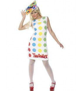 Officiele Twister Kleding Vrouw Kostuum