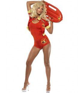 Officieel Baywatch Bodysuit - Zwemkleding Vrouw Kostuum