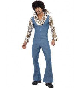 Jaren 70 Groovy Danser Man Kostuum